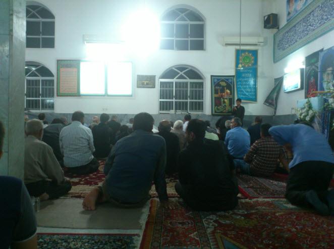 مراسم شب قدر - امام رضا