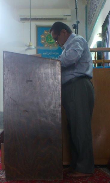 دعای بین نماز ماه رمضان با صدای حاج علی محمد امیری اندی